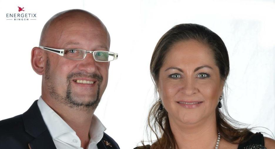 Energetix Team Bettina Seelbach-Welz und Christian Welz  Magnetschmuckpower